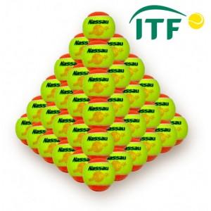 Nassau - Mingi Tenis NASSAU COOL Stagiu 2 portocaliu (60 Buc.)