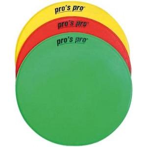 Pro's Pro - Cercuri Marcaj Cauciucate Set 6 Buc rosu/galben/verde