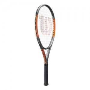 Wilson - Burn 26 S (2017) Racheta De Tenis Pentru Copii negru/portocaliu
