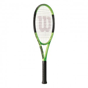 Wilson - Blade 98L 16x19 Reverse Tour Racheta Tenis Competitionala verde/negru