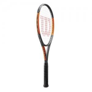Wilson - Burn 100LS (2017) Racheta Tenis De Camp Antracit/Portocaliu