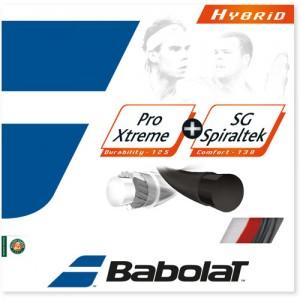 Babolat-Pro Xtreme + SG Spiraltek Hybrid 12m Rosu/Negru