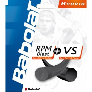 Babolat - RPM Blast + VS Negru/Natural Racordaj Tenis