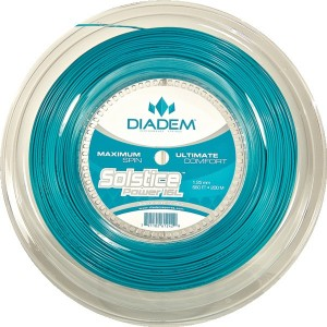DIADEM - Solstice Power Racordaj tenis de camp 200m albastru turcoaz