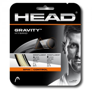 Head-Racordaj tenis de camp Gravity 12m alb/gri