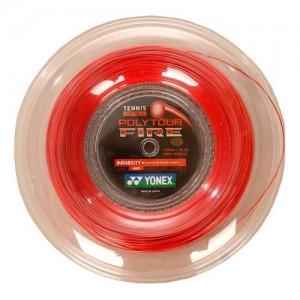Yonex - Poly Tour Fire Rola Racordaj Tenis 200 m Rosu