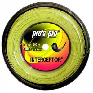 Pro's Pro - Interceptor Racordaj Tenis verde neon 200m