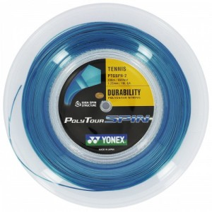 Yonex - Poly Tour Spin Rola Racordaj Tenis 200m Albastru