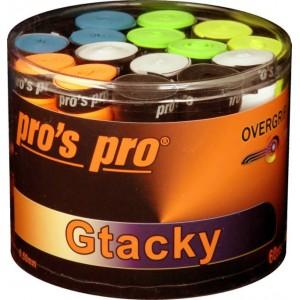 Pro's Pro - Overgrip Gtacky Standard Cutie 60 Buc Multicolor