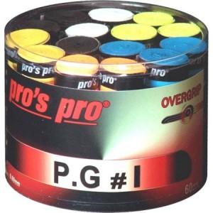 Pros Pro P.G. 1 - Overgrip Perforat Cutie 60 Buc multicolor