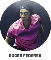 Tenisz felszerelés amelyet Roger Federer használ