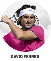 Echipamentele folosite de David Ferrer