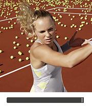 Tenisz felszerelés amelyet Caroline Wozniacki használ