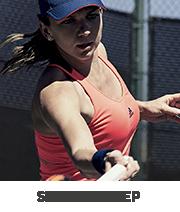 Tenisz felszerelés amelyet Simona Halep használ