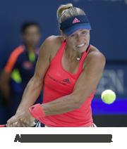 Tenisz felszerelés amelyet Angelique Kerber használ