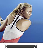 Tenisz felszerelés amelyet Maria Sharapova használ